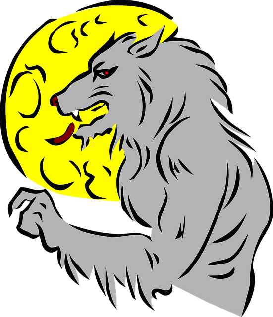 Clipart halloween werewolf. Jokes about werewolves fun
