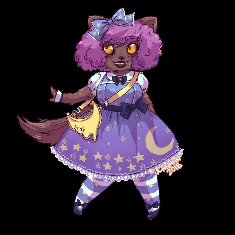 Lolita by jcanaan on. Clipart halloween werewolf