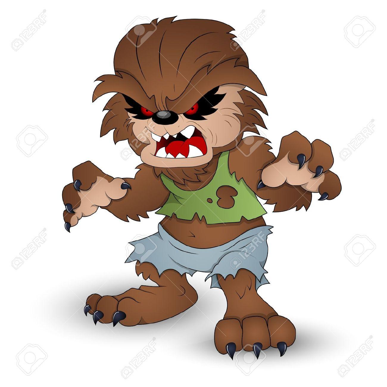 Collection of werewolf free. Wolf clipart halloween