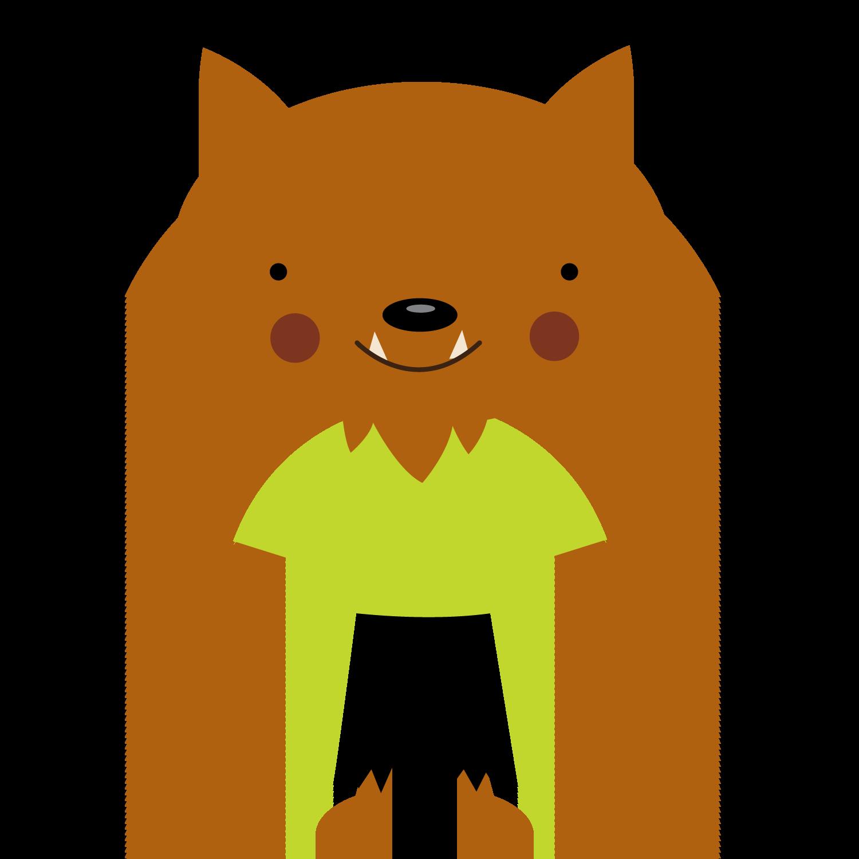 Mummy clipart cute halloween character. Werewolf png minus pinterest