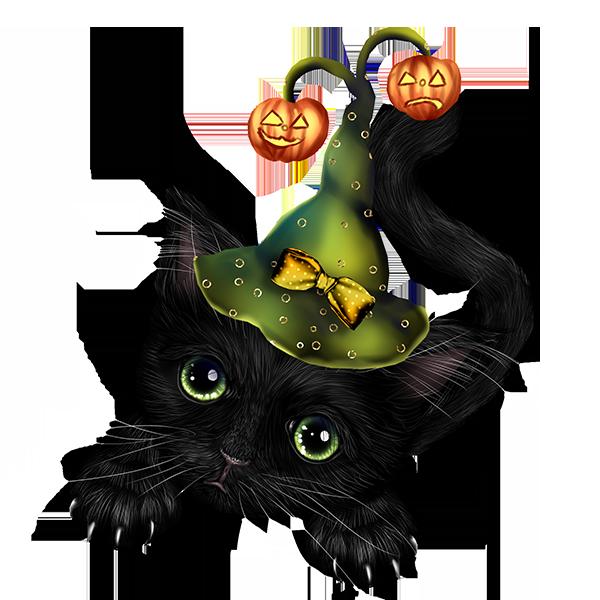 kitten clipart whimsical cat