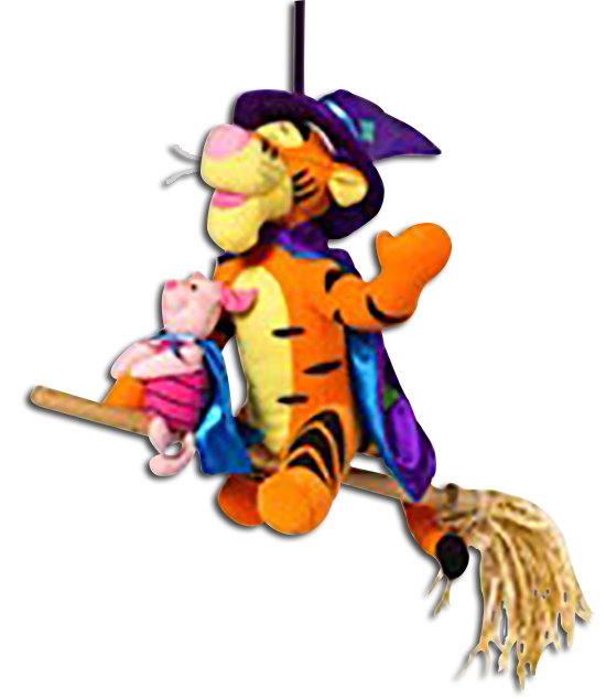 Cuddly collectibles and friends. Clipart halloween winnie the pooh