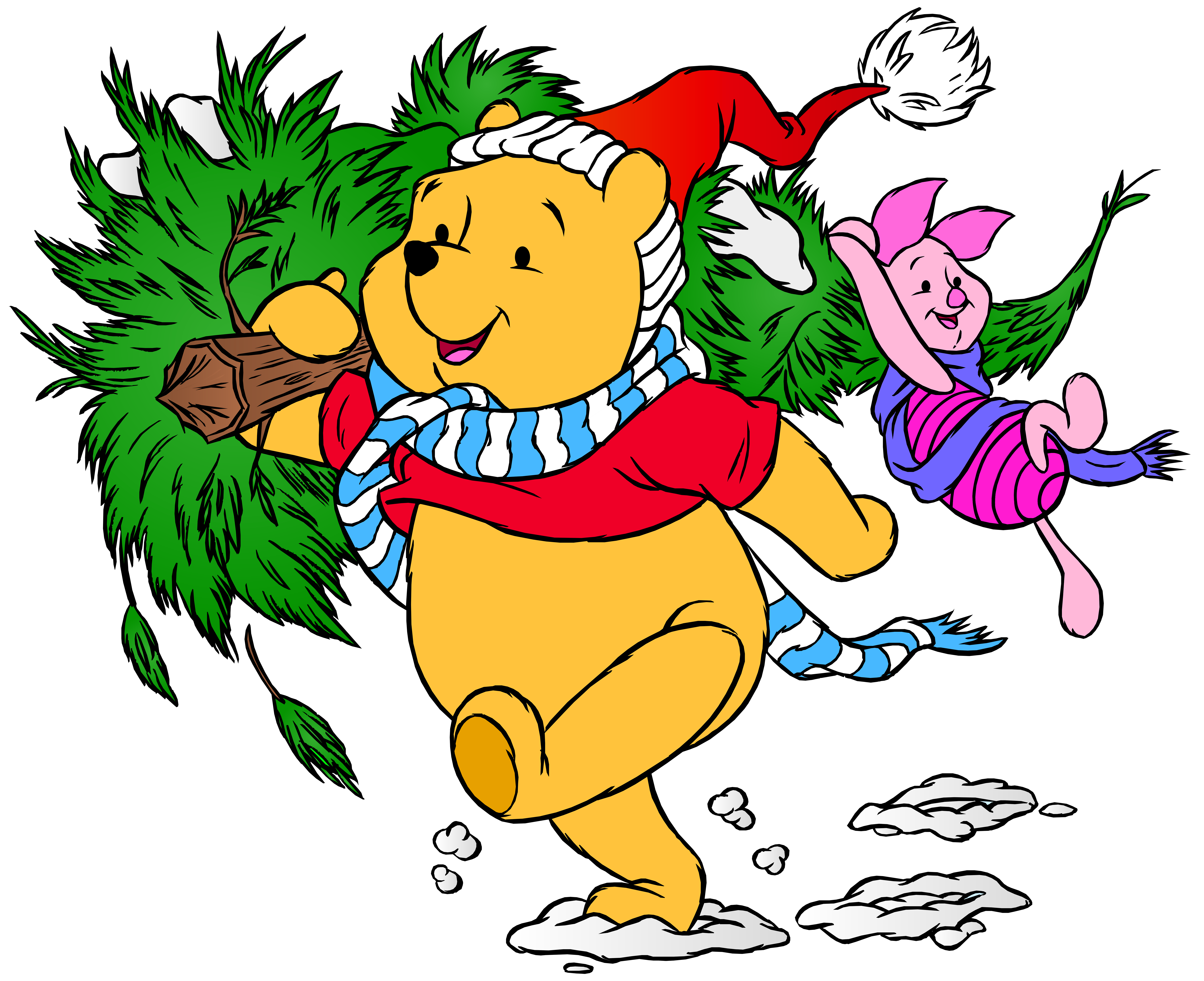 Winnie the pooh and. Hairbrush clipart animated