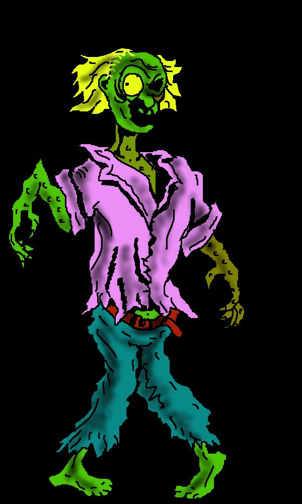 Clip art image . Clipart halloween zombie