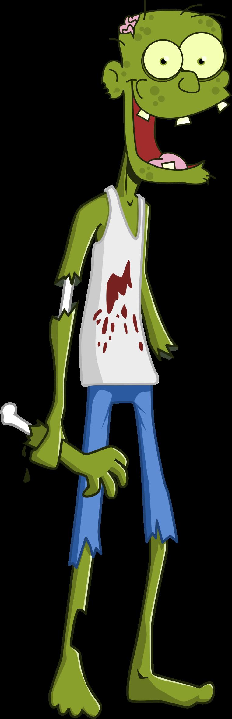 Zombie clipart zombie brain. Cartoon big image png