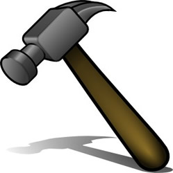 Clipart hammer. And tools