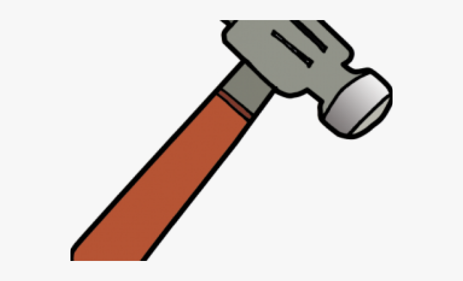 Transparent background . Clipart hammer