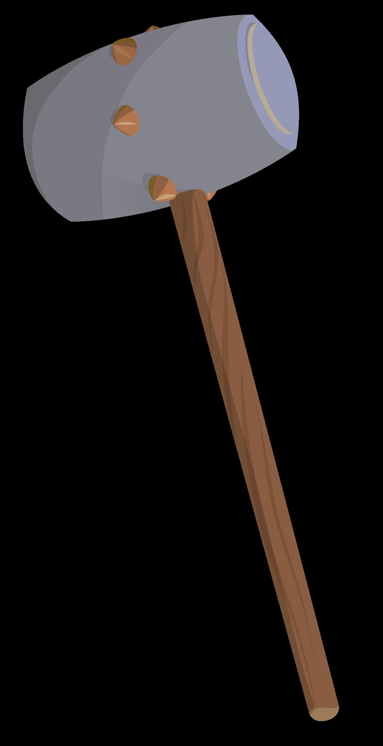 Fantasy big image png. Hammer clipart mallet hammer