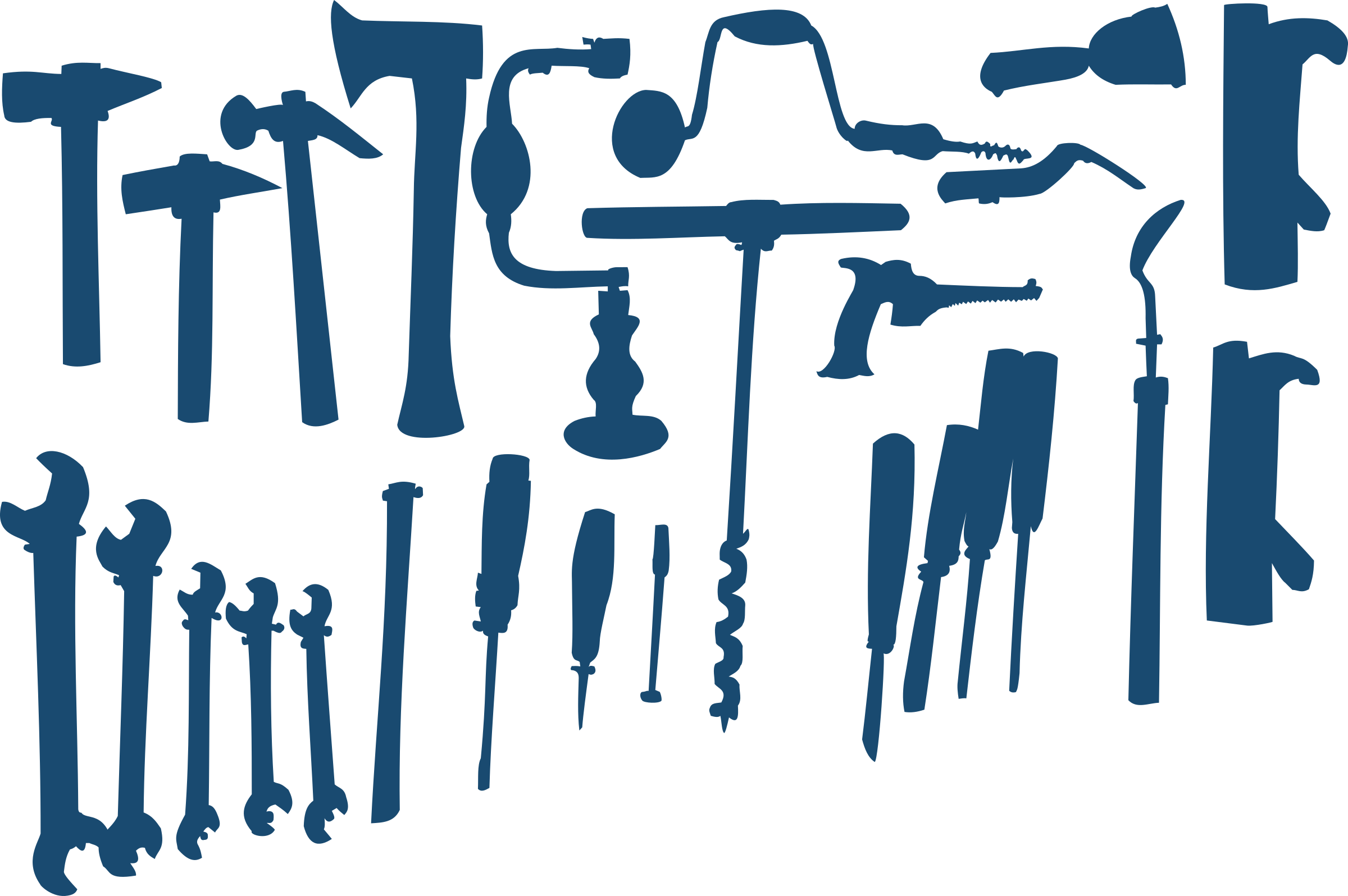 Tools silhouette at getdrawings. Hammer clipart hammer chisel