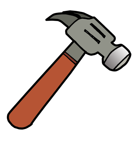 Image result for clip. Tool clipart hammer