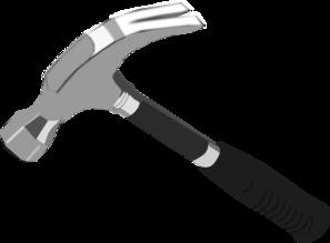 Clip art at clker. Clipart hammer building tool