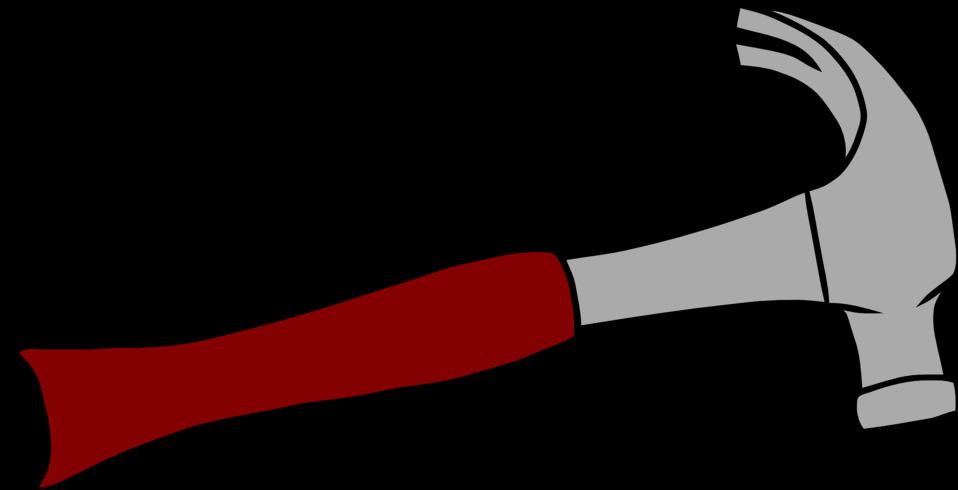 Public domain clip art. Clipart hammer building tool