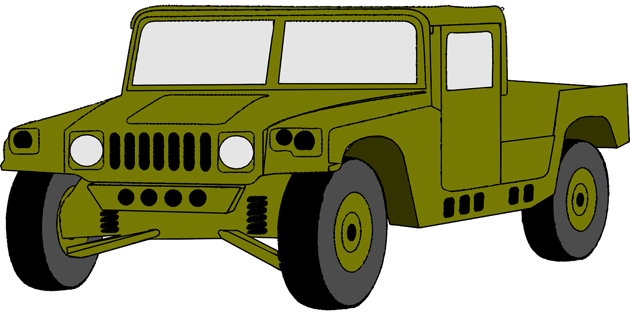 Hammer clipart car hummer. Jeep vehicle army png