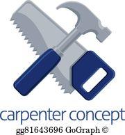 Clip art vector tools. Clipart hammer carpenter