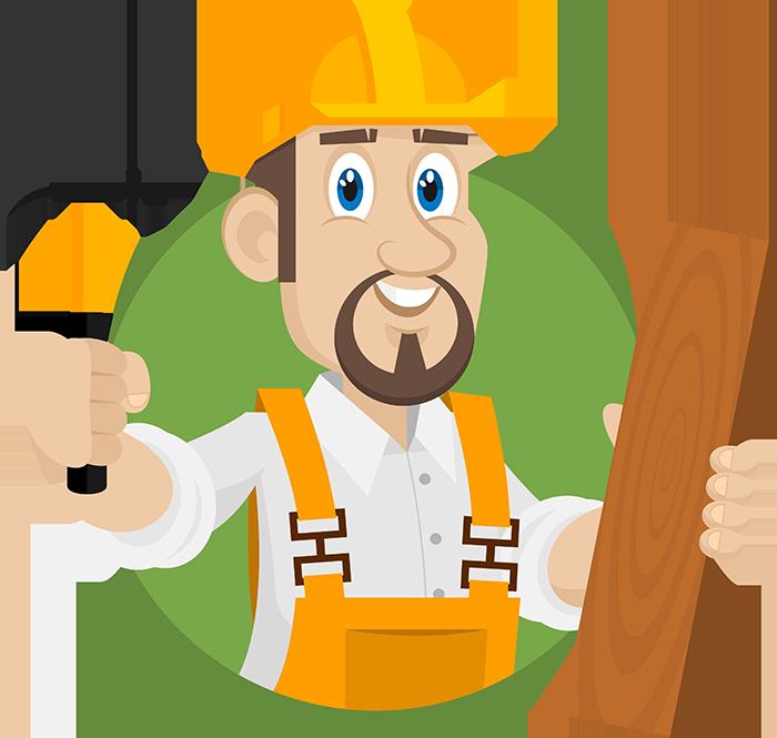 Clipart hammer carpenter. Dario g foundation repair