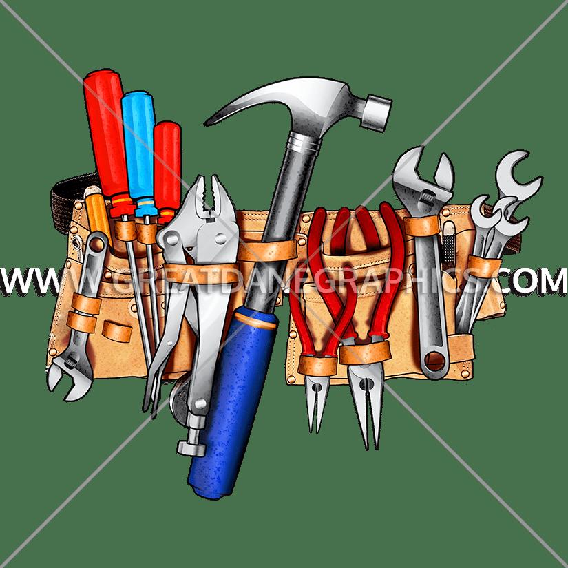 Handy belt production ready. Hammer clipart carpentry tool