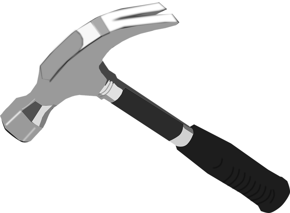 Hammer clipart claw hammer. Station