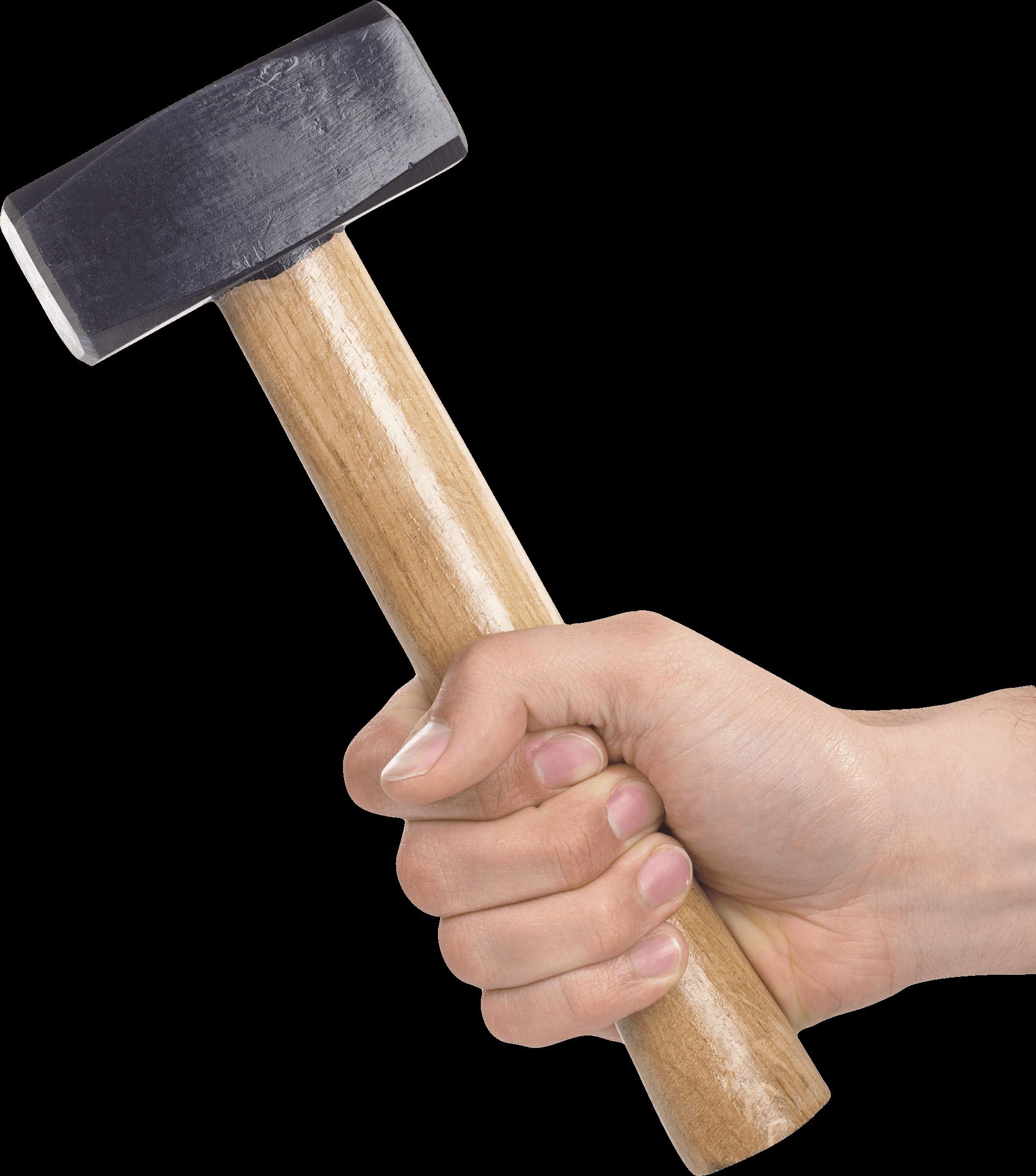 Hammer clipart hand holding. Transparent png stickpng sledge