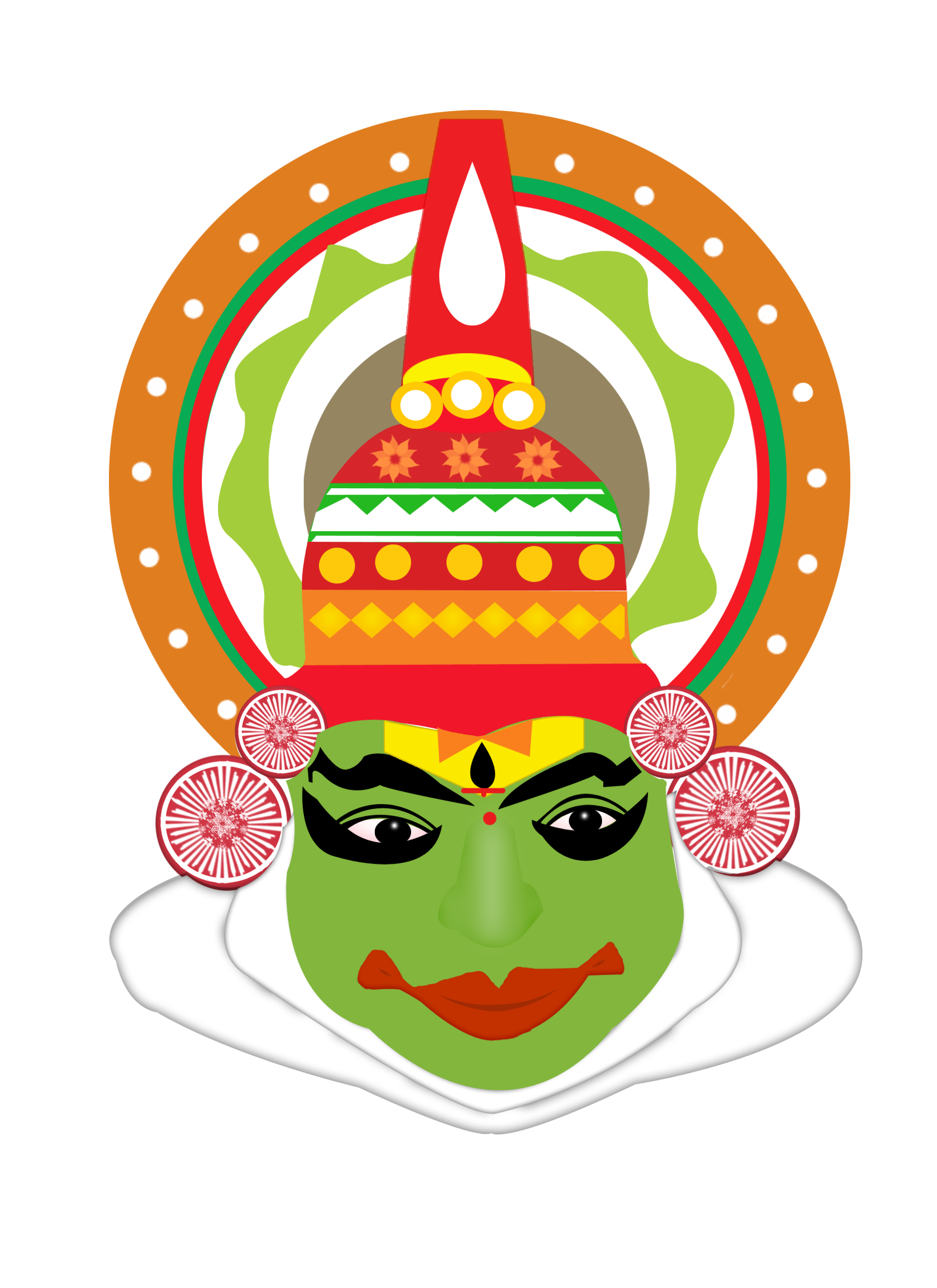 India clipart drawing.  collection of kathakali