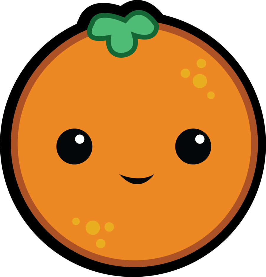 collection of orange. Clipart hammer cute