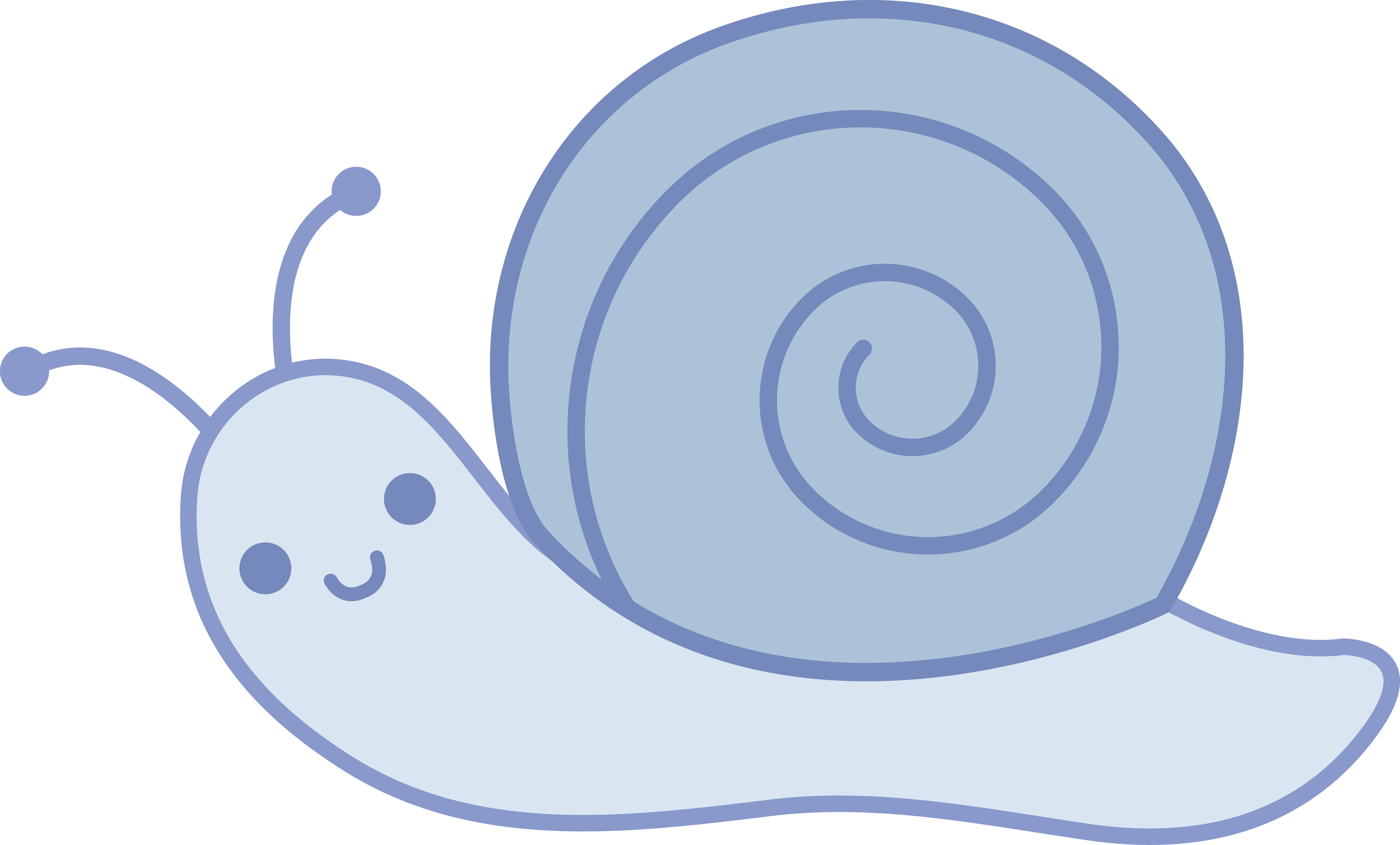 Coloring snail