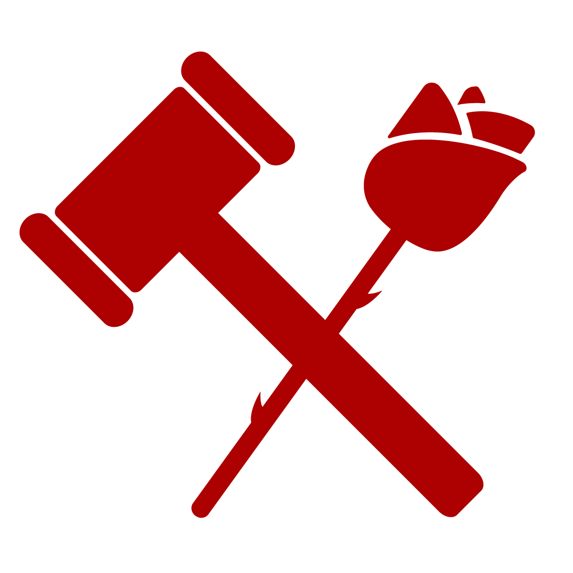 Argumentation and persuasion consulting. Clipart hammer debate