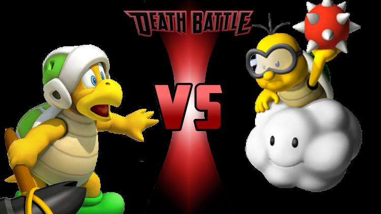 Clipart hammer debate. Bro vs lakitu death