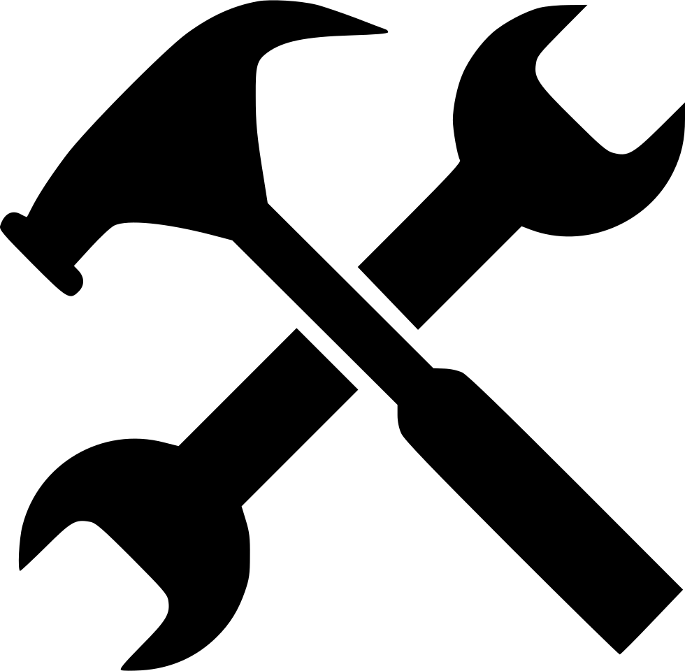 Gear hammer job options. Tool clipart work tool