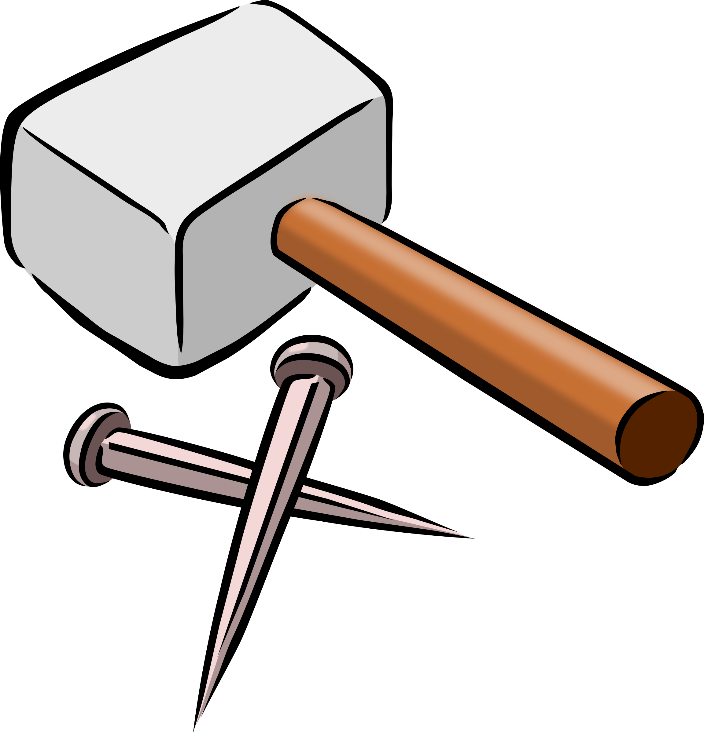 Clipart hammer design technology tool. And nails icons png