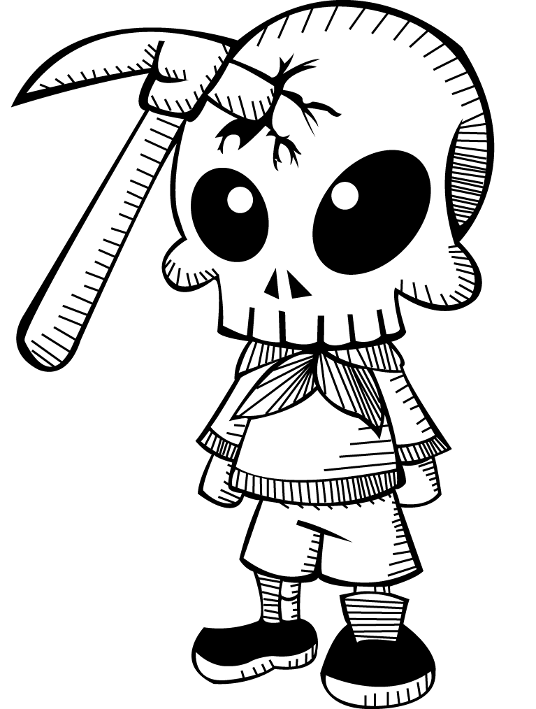Simple drawing at getdrawings. Hammer clipart sketch