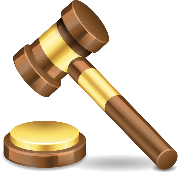 Gavel png . Justice clipart high court