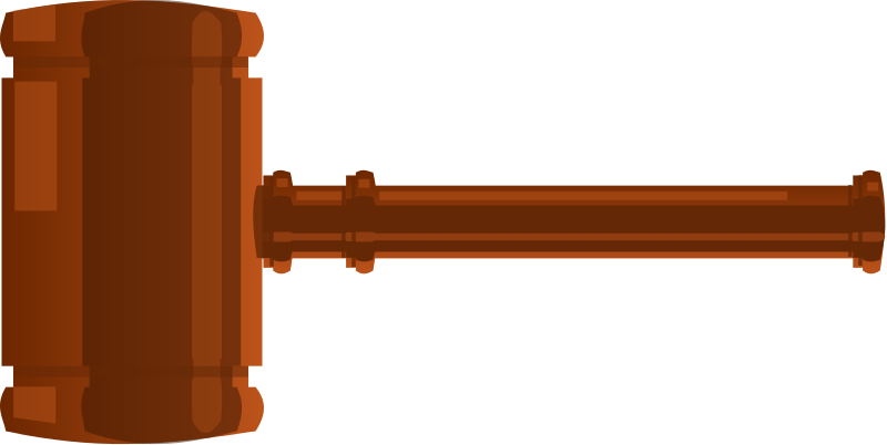 Clipart hammer gavel. Free to use cliparts