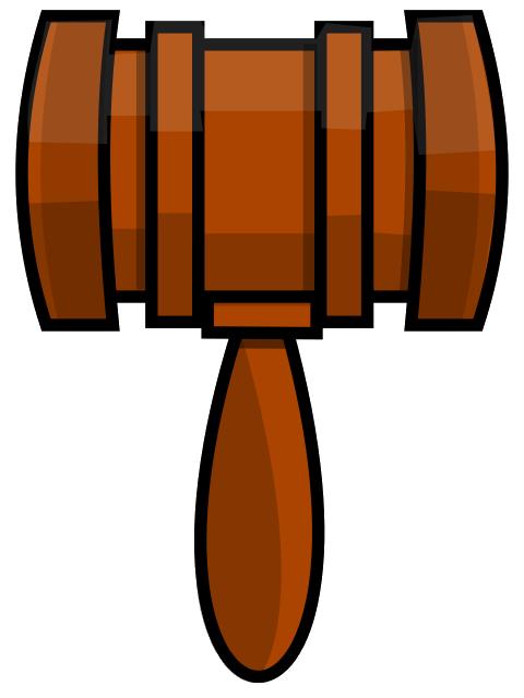 clipart hammer gavel