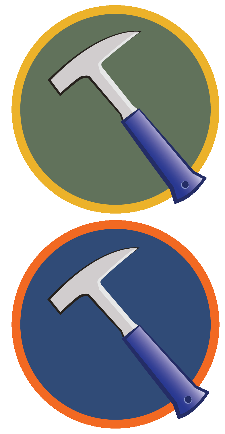 Clipart hammer geology. Icons and rollovers mekanismo