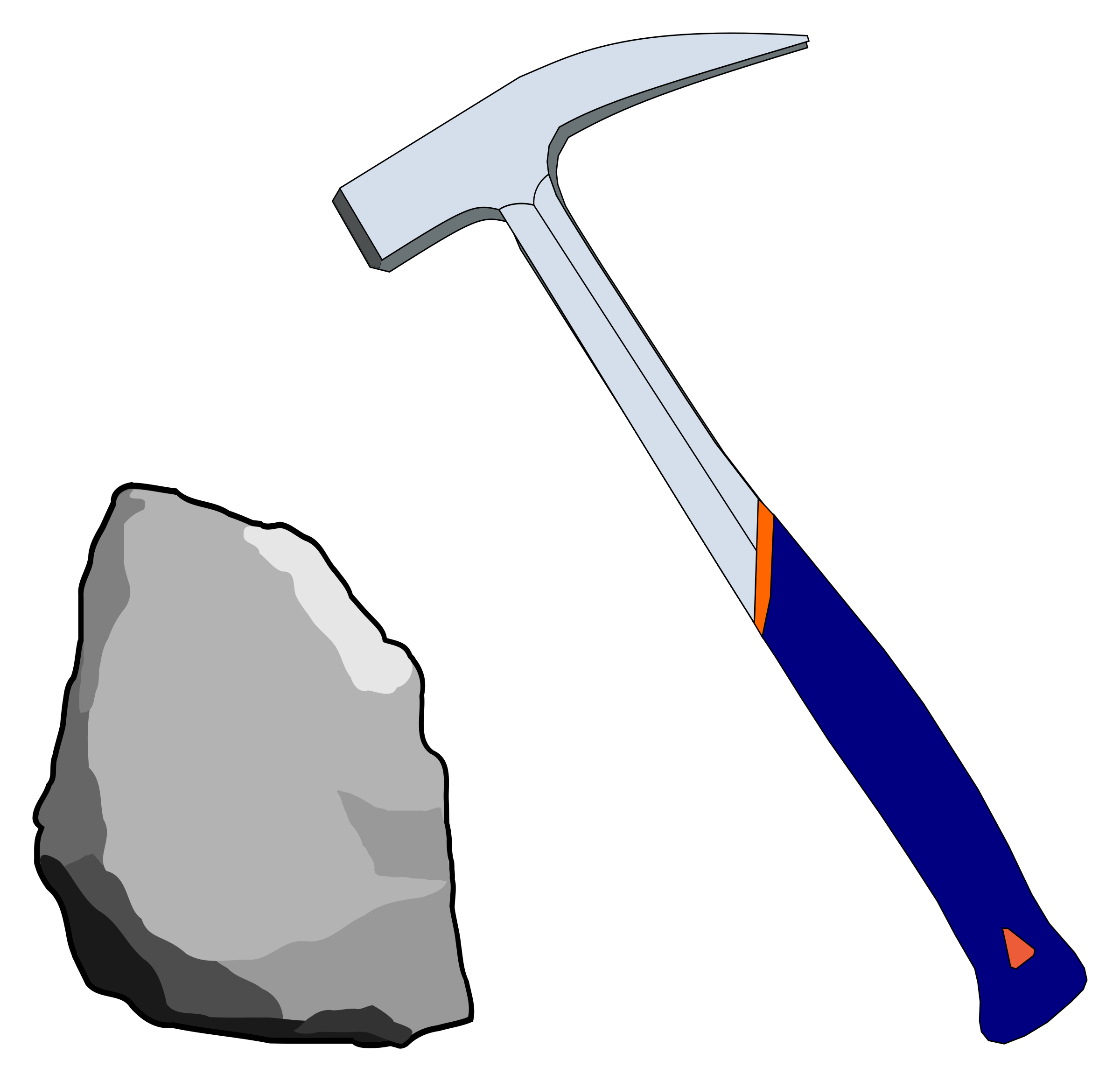 Geological big image png. Clipart hammer geology