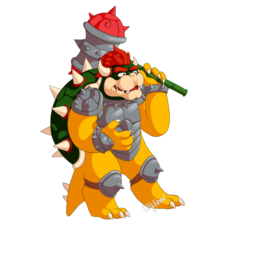 Slam bowser by cayshax. Clipart hammer hamer