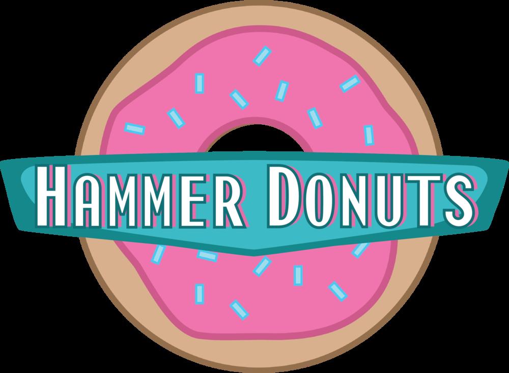 Donuts clipart donut hole. Hammerdonutslogo png format w