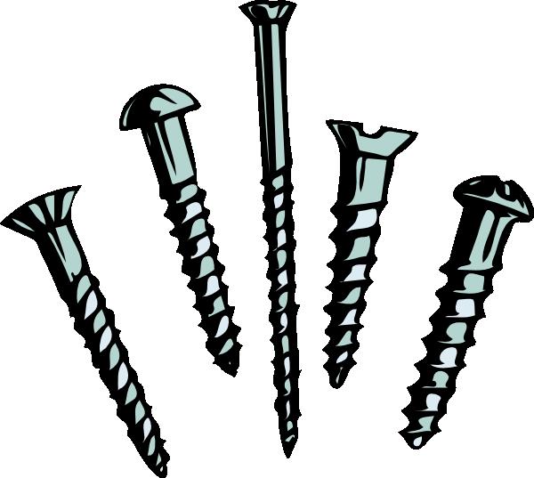 Screws clip art at. Hammer clipart hammer chisel