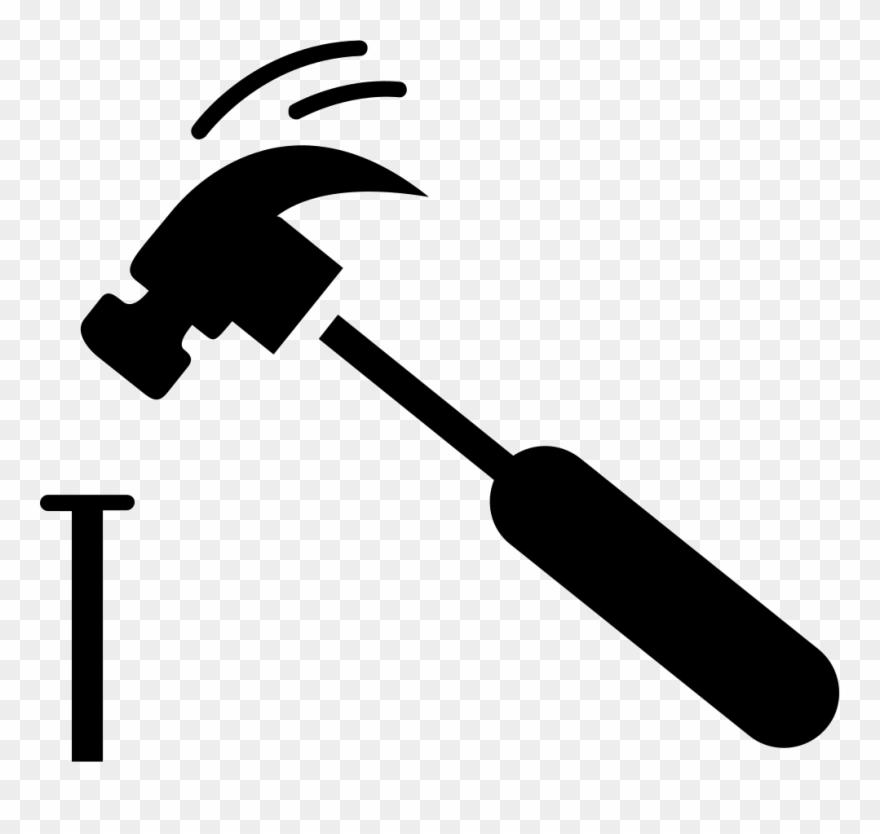 Clipart hammer hammer nail. And png pinclipart