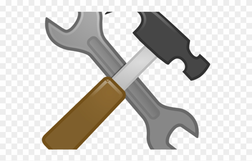 Tool wrench and . Screwdriver clipart hammer screwdriver