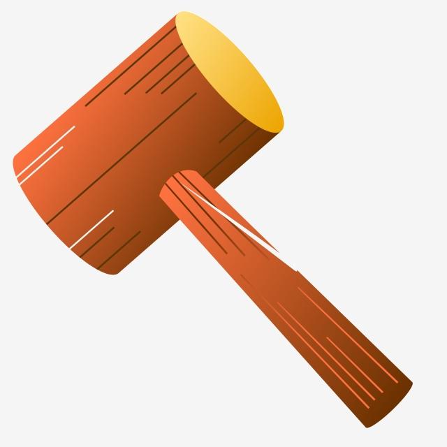 Wooden cartoon . Clipart hammer hammer wood