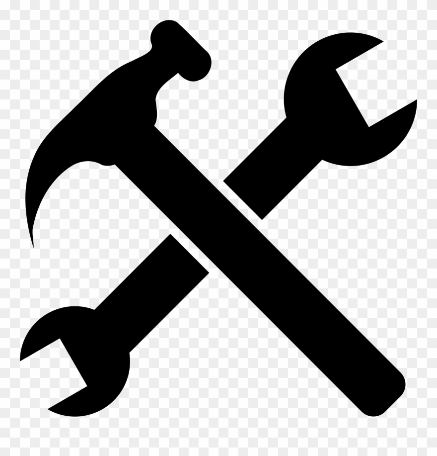 Clipart hammer hammer wrench. Banner free library and