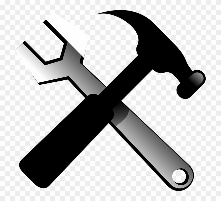 Tools and png . Clipart hammer hammer wrench