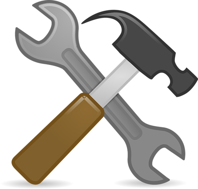 Clipart hammer hammer wrench. Tool favicon twin city