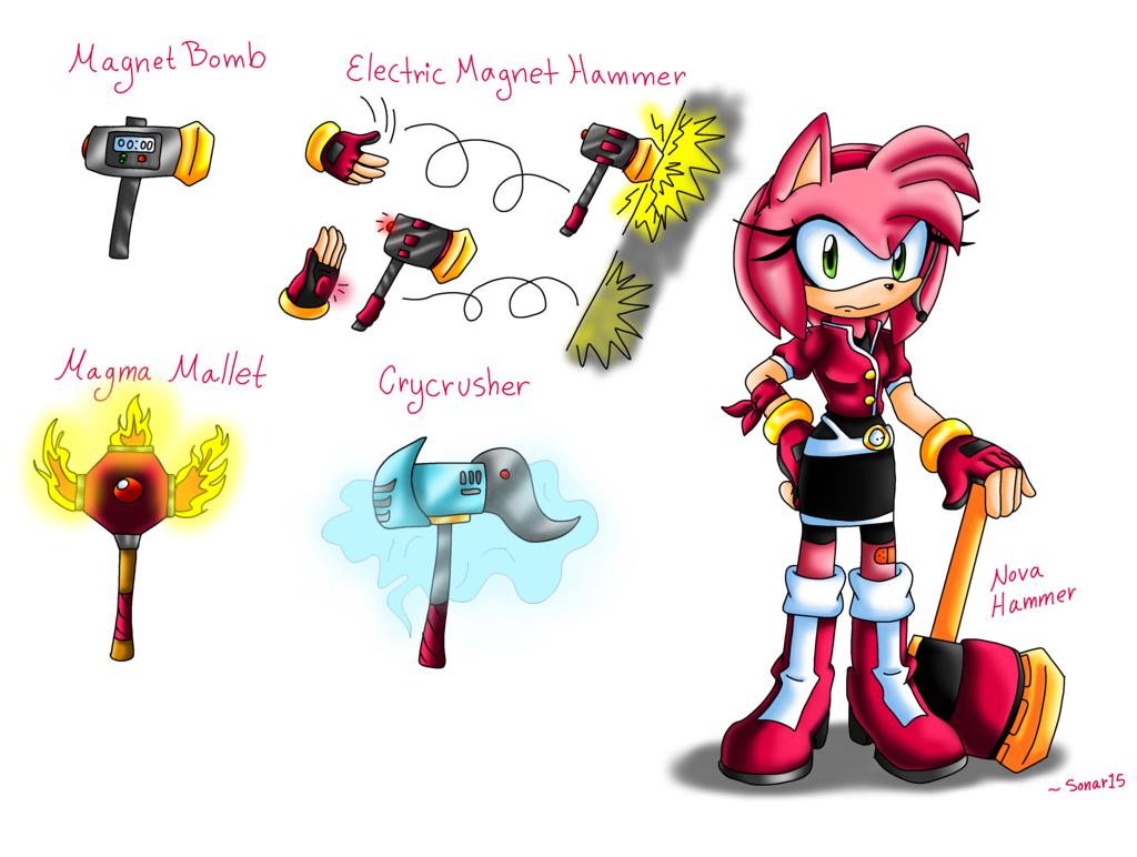 Amy rose sonic resistance. Clipart hammer hard object