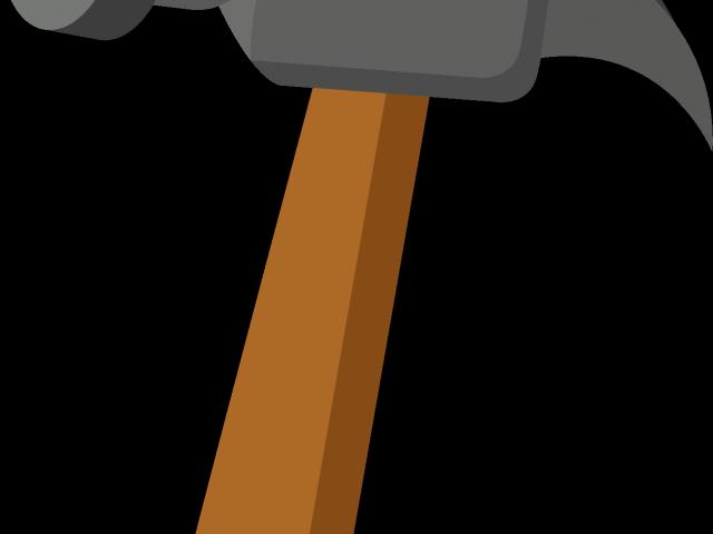 hammer clipart long object