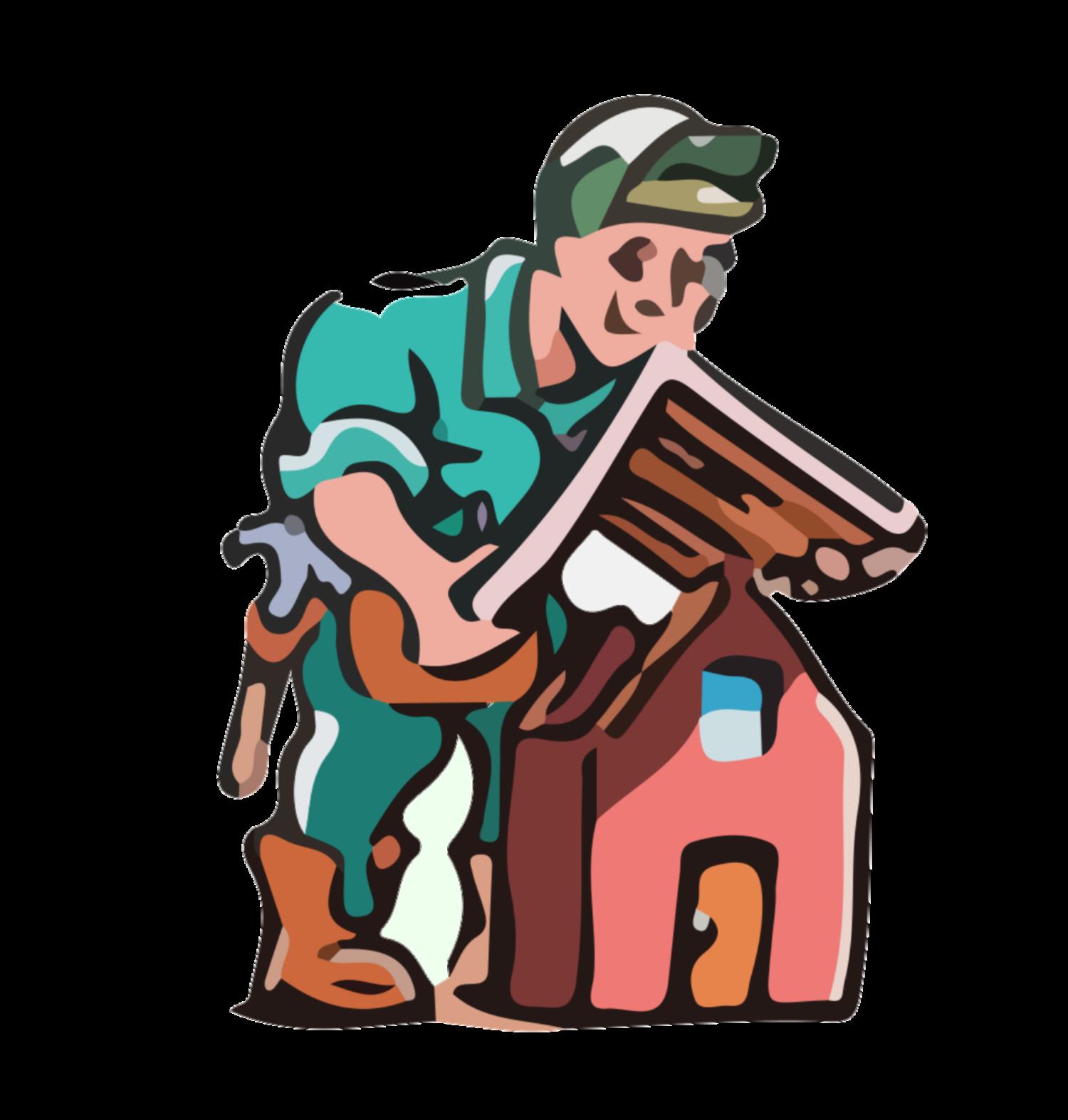 Clipart hammer home improvement tool. Crosby improvements