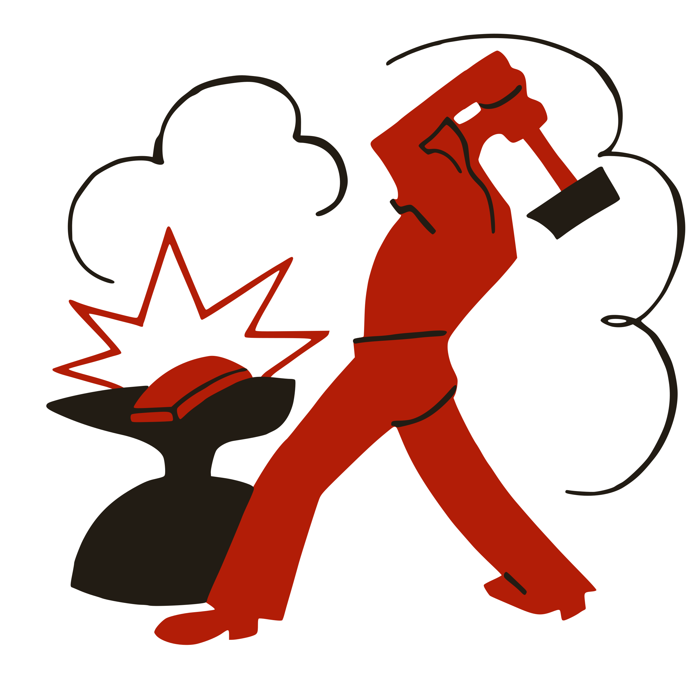 Worker smashing capitalism with. Clipart hammer illustration