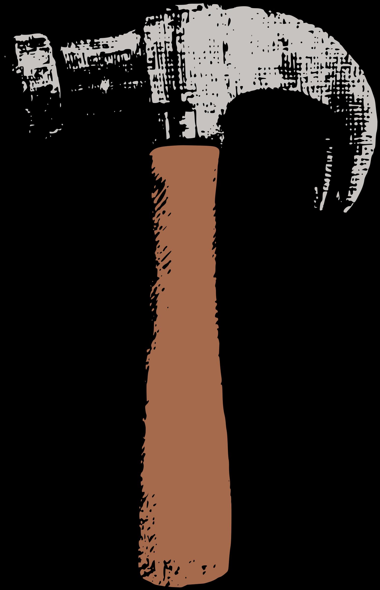 Colour big image png. Clipart hammer illustration