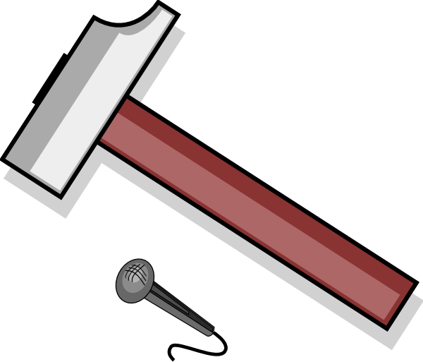 Clipart hammer large. Clip art at clker